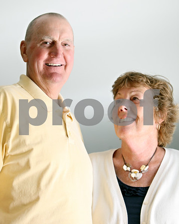 """Rob Winner – rwinner@shawmedia.com<br /> <br /> Jim Anderson, of DeKalb, is recovering from diffuse large B cell lymphoma that he had treated in early June into July. His wife Norma was with him every step of the way. """"She's my administrator, my hearing, my everything,"""" said Jim of his wife Norma at their home on Thursday."""