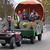 Wendy Kemp - For The Daily Chronicle<br /> The Junior Marshalls ride in the annual Pumpkin Parade in Sycamore on Sunday.<br /> Sycamore 10/30/11