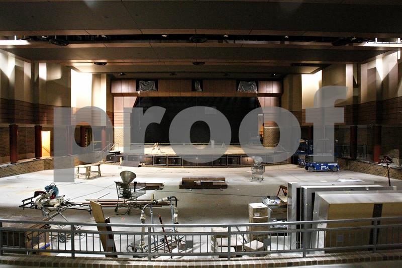 Rob Winner – rwinner@daily-chronicle.com<br /> <br /> The auditorium of the new DeKalb High School on Wednesday, Feb. 23, 2011.