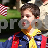 Kyle Bursaw – kbursaw@daily-chronicle.com<br /> <br /> Jeffrey Oestreicher marches in the Sycamore parade with his Cub Scout troop on Monday, May 30, 2011.