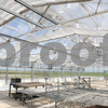 Kyle Bursaw – kbursaw@daily-chronicle.com<br /> <br /> DeKalb High School's greenhouse. Principal Moeller said the school managed to safe costs on construction by leaving the greenhouse with a primarily gravel floor rather than having a concrete one put in.<br /> <br /> Friday, July 29, 2011.