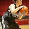 Rob Winner – rwinner@shawmedia.com<br /> <br /> Northern Illinois guard Courtney Shelton controls a ball during  a practice on Monday, Nov. 7, 2011, in DeKalb, Ill.