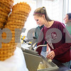 Kyle Bursaw – kbursaw@daily-chronicle.com<br /> <br /> Jenna Johnson, 19, puts together a frozen treat inside Ollie's Frozen Custard in Sycamore, Ill. on Friday, May 6, 2011.