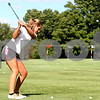 Kyle Bursaw – kbursaw@daily-chronicle.com<br /> <br /> Hinckley-Big Rock's Marni Warner practices her short game at golf practice at Indian Oaks Golf Course on Wednesday, Aug. 10, 2011.