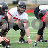 Kyle Bursaw – kbursaw@daily-chronicle.com<br /> <br /> Left guard Logan Pegram (70) lines up during practice at Huskie Stadium on Tuesday, March 22, 2011.