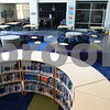 Kyle Bursaw – kbursaw@daily-chronicle.com<br /> <br /> Sycamore Middle School's new library.<br /> <br /> Wednesday, Aug. 17, 2011.