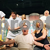 "Rob Winner – rwinner@daily-chronicle.com<br /> <br /> Cast members of ""A Funny Thing Happened on the Way to the Forum"" rehearse a scene on Wednesday, March 16, 2011 at Stage Coach Players in DeKalb, Ill."