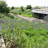 Rob Winner – rwinner@shawmedia.com<br /> <br /> A bridge that collapsed on Tuesday, Aug. 19, 2008, in Afton Township on Keslinger Road west of South First Street remains unfinished as seen nearly three years later on Wednesday, Aug. 17, 2011.
