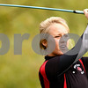 Kyle Bursaw – kbursaw@shawmedia.com<br /> <br /> Indian Creek's Kalia Foster watches her shot from a tee box on the front nine at the Little 10 golf meet at Hughes Creek Golf Club in Elburn, Ill. on Wednesday, Sept. 28, 2011.