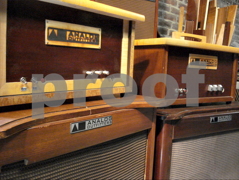 Sycamore High School graduate Ben Juday, owner of Analog Outfitters in Champaign, has recently launched his ORGANic Amplifier line. The guitar amplifiers are made from recycled materials that come from old organs that have been around since the 1950s and 1960s. (Submitted photo)