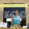 Kyle Bursaw – kbursaw@daily-chronicle.com<br /> <br /> Cheryl Connelly, director of BabyKids First Learning Years in Sycamore, Ill. waits at the Alex's Lemonade Stand just on the sidewalk of the complex at 1715 DeKalb Ave where BabyKids is located to sell lemonade and raffle tickets in exchange for donations on Tuesday, Aug. 9, 2011.