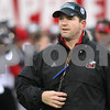Kyle Bursaw – kbursaw@daily-chronicle.com<br /> <br /> Linebackers coach Tom Matukewicz watches over practice at Huskie Stadium on Tuesday, March 22, 2011.