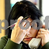 Rob Winner – rwinner@daily-chronicle.com<br /> <br /> Sexual assault counselor Chiara Nudo (sp) answers the 24 hour phone hotline at Safe Passage in DeKalb on Wednesday, Feb. 23, 2011.