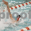 Rob Winner – rwinner@shawmedia.com<br /> <br /> Marc Dubrick, of the DeKalb-Sycamore co-op swimming team, competes in the 100 backstroke in DeKalb, Ill., on Thursday, Dec. 15, 2011.
