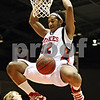 Rob Winner – rwinner@daily-chronicle.com<br /> <br /> Northern Illinois forward Nate Rucker dunks a ball during the first half in DeKalb, Ill., against Akron on Wednesday, Jan. 26, 2011.