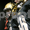 Rob Winner – rwinner@shawmedia.com<br /> <br /> Sycamore's Ben Niemann returns to the sidelines after a 53-yard touchdown reception during the second quarter in Sycamore, Ill. on Friday, Sept. 23, 2011.