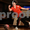 Kyle Bursaw – kbursaw@daily-chronicle.com<br /> <br /> DeKalb's Brandi Underwood at Mardi Gras Lanes on Thursday, Jan. 20, 2011.