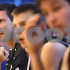 Kyle Bursaw – kbursaw@daily-chronicle.com<br /> <br /> Sycamore boys basketball coach Drew Stacy looks on from the bench as his team plays a game at Hinckley-Big Rock High School on Wednesday, June 29, 2011.