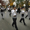 Wendy Kemp - For The Daily Chronicle<br /> The Sycamore High School Marching Band takes part in the annual Pumpkin Parade in Sycamore on Sunday.<br /> Sycamore 10/30/11