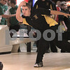 Kyle Bursaw – kbursaw@daily-chronicle.com<br /> <br /> Sycamore bowler Kody Williams warms up before a match on Nov. 9, 2010.