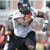 Rob Winner – rwinner@daily-chronicle.com<br /> <br /> Jamal Womble during practice on Friday, Aug. 5, 2011, in DeKalb, Ill.