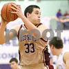 Kyle Bursaw – kbursaw@shawmedia.com<br /> <br /> Morris' Jake Olson snags a rebound in the fourth quarter of the Redskins game against Kaneland in the Plano Christmas Classic in Plano, Ill. on Tuesday, Dec. 27, 2011. The Knights defeated the Redskins 50-44.