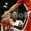 Rob Winner – rwinner@shawmedia.com<br /> <br /> Northern Illinois forward Keith Gray (21) controls a ball under the Huskies' basket during the first half in DeKalb, Ill., on Friday, Nov. 4, 2011.