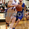 Rob Winner – rwinner@daily-chronicle.com<br /> <br /> Hinckley-Big Rock's Kaitlin Phillips goes to the basket with Somonauk's Ashlee Kawall trailing during the third quarter in Shabbona, Ill. on Thursday, January 20, 2011.