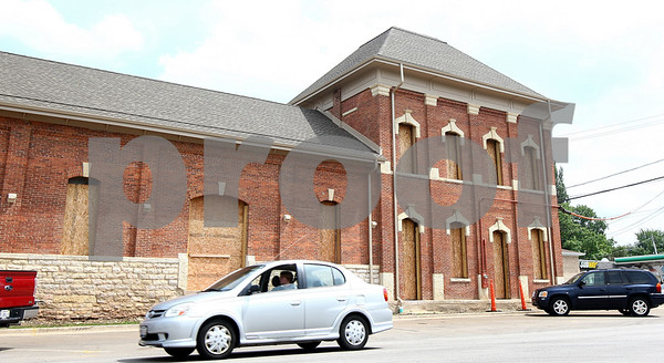 Kyle Bursaw – kbursaw@daily-chronicle.com<br /> <br /> The old train depot at the corner of Sacramento Street and DeKalb Avenue in Sycamore, Ill. on Monday, Aug. 1, 2011.