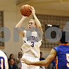 Rob Winner – rwinner@shawmedia.com<br /> <br /> Hinckley-Big Rock's Jared Madden (3) takes a shot during the second quarter in Hinckley, Ill., on Monday, Dec. 19, 2011. H-BR defeated G-K, 58-40.