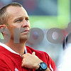 Kyle Bursaw – kbursaw@shawmedia.com<br /> <br /> Northern Illinois head coach Dave Doeren watches the final seconds of NIU's 49-7 loss to Wisconsin at Soldier Field in Chicago, Ill. on Saturday, September 17, 2011.