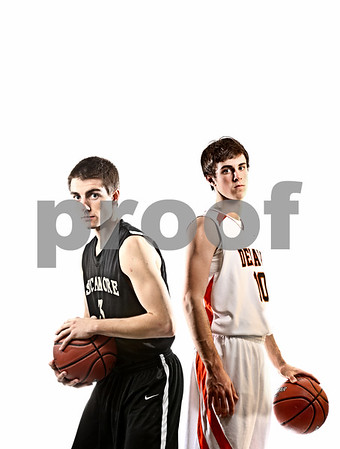 Rob Winner – rwinner@daily-chronicle.com<br /> <br /> Andrew Montgomery (left), of Sycamore, and Brian Sisler, of DeKalb