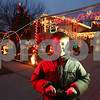 Rob Winner – rwinner@shawmedia.com<br /> <br /> 10-year-old Aidan Harrolle has been decorating the outside of his family's DeKalb home with lights and holiday scenes for Christmas for the past five years.