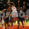 Rob Winner – rwinner@shawmedia.com<br /> <br /> Northern Illinois forward Shaakira Haywood (33) takes a shot during the second half in DeKalb, Ill., on Wednesday, December 14, 2011. University of Illinois-Chicago defeated NIU, 49-47.