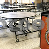 Kyle Bursaw – kbursaw@daily-chronicle.com<br /> <br /> The cafeteria of the new DeKalb High School, taken on Friday, July 29, 2011.