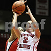 Rob Winner – rwinner@daily-chronicle.com<br /> <br /> Northern Illinois guard Brittney Callahan takes a shot during the first half in DeKalb, Ill. on Wednesday, Jan. 19, 2011.