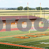 Kyle Bursaw – kbursaw@daily-chronicle.com<br /> <br /> A view of the football field at the new DeKalb High School, taken on Friday, July 29, 2011.