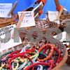 Kyle Bursaw – kbursaw@daily-chronicle.com<br /> <br /> Some of the items available in the For Mother Earth tent at the DeKalb farmer's market on Thursday, June 23, 2011.
