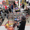 Kyle Bursaw – kbursaw@daily-chronicle.com<br /> <br /> Customers line up at Brown's County Market in Sycamore, Ill. on Tuesday, Feb. 1, 2011.
