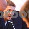 Kyle Bursaw – kbursaw@daily-chronicle.com<br /> <br /> Sycamore boys basketball coach Drew Stacy talks to his team during a time out during a game at Hinckley-Big Rock High School on Wednesday, June 29, 2011.