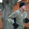 Kyle Bursaw – kbursaw@shawmedia.com<br /> <br /> Cohen Barnes begins his morning run on Friday, Dec. 23, 2011. Barnes is just a few days away from completing his 2011 New Year's resolution of running at least three miles each day. His 2012 resolution is to complete a marathon in under four hours.