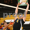Kyle Bursaw – kbursaw@shawmedia.com<br /> <br /> Sycamore's Ratasha Garbes sets the ball during the match against Burlington Central in the Class 3A Volleyball Sycamore Regional Semifinal atSycamore High School on Tuesday, Oct. 25, 2011.