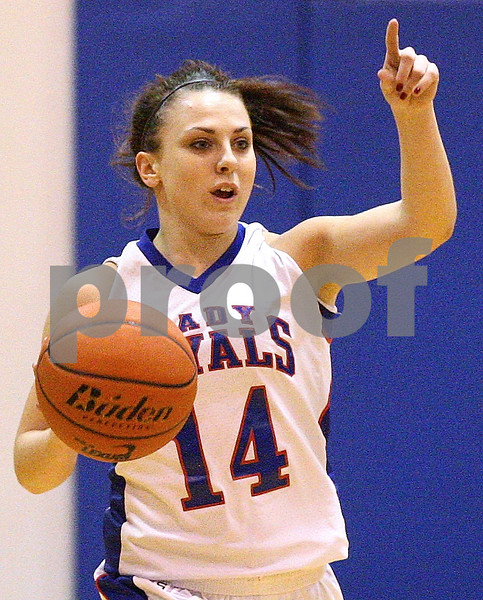 Kyle Bursaw – kbursaw@shawmedia.com<br /> <br /> Hinckley-Big Rock's Kaitlin Phillips on Monday, Dec. 5, 2011.