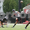 Rob Winner – rwinner@daily-chronicle.com<br /> <br /> Josh Gallington during practice on Friday, Aug. 5, 2011, in DeKalb, Ill.