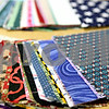 Rob Winner – rwinner@daily-chronicle.com<br /> <br /> Sample squares for quilt making are available at the Genoa Public Library as Genoa Quilt and Need Arts Walk begins.