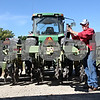 Rob Winner – rwinner@shawmedia.com<br /> <br /> John Hintzsche works on a piece of equipment as Schweitzer Farms in Malta begin preparing for the upcoming harvest on Thursday, Sept. 15, 2011.