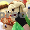 "Rob Winner – rwinner@daily-chronicle.com<br /> <br /> Sycamore High School students perform a disability awareness puppet show called ""Kids on the Block,"" which deals with autism and Down Syndrome, to students at North Prairie Elementary in Sycamore on Monday afternoon."