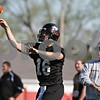 Rob Winner – rwinner@shawmedia.com<br /> <br /> Matt McIntosh during the Northern Illinois football team's first practice of the spring Wednesday, March 28, in DeKalb, Ill.