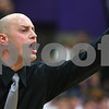 Kyle Bursaw – kbursaw@shawmedia.com<br /> <br /> Kaneland coach Brian Johnson directs his players on the court during the fourth quarter. Kaneland defeated Rochelle 65-61at Rochelle Township High School on Friday, March 2, 2012. The regional championship is the first for Kaneland under third-year coach Brian Johnson.
