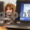 Kyle Bursaw – kbursaw@shawmedia.com<br /> <br /> Third-grader Danielle Brenner works on a computerized MAP reading test in Hiawatha's learning resource center on Friday, April 13, 2012. MAP stands for measured academic progress and the students take tests in multiple subjects.